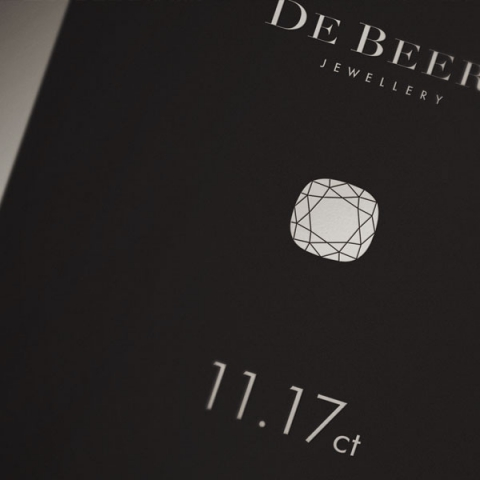 Brochure for DeBeers Baku